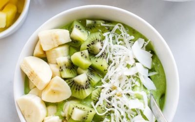 Spinach & Banana Smoothie Bowl